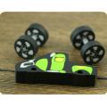 Promoción coche juguetes escuela borrador para lápiz