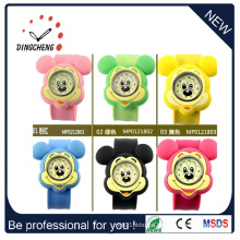 Crhistmas Gift Quartz Colorful Silicone Digital Slap Watch (DC-088)