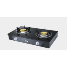 Tempered Glass Panel Cook Tops Double Burner