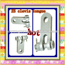 ZS type clevis tongue cable fitting overhead line hardware fitting electric power line fitting