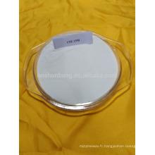 CPE acrylonitrile chloré polyéthylène styrène terpolymère Poudre blanche