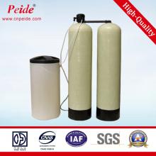 Descalcificador de água para tratamento químico e têxtil industrial
