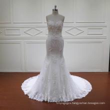 Mermaid Description of Wedding Dress