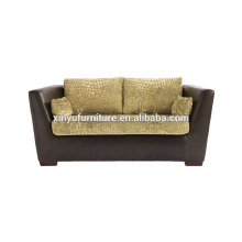 Modern velvet fabric two seater sofa XY3367