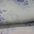 Cotton rayon blend percale poplin fabric for dresses