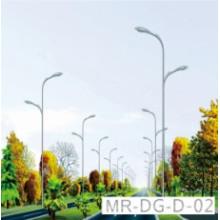 Poste de luz LED de rua com galvanizado