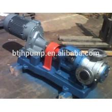 Semi-solid pump self-priming pump industrial process
