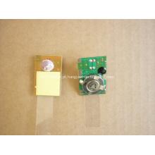 A luz de piscamento da bateria do diodo emissor de luz, piscando única conduziu a bateria das luzes, luzes do diodo emissor de luz