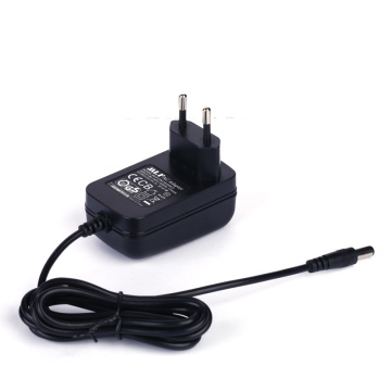 Switching adapter input EU 9V600mA plug 100-240V 50 / 60Hz