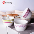 Keramik Nudel Schüssel Reis serviert Schüssel