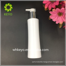 200ml 250ml white plastic pump bottle PET lotion shampoo Waist bottle