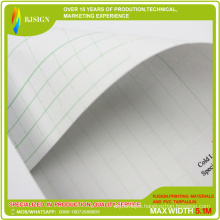 0.06mm Glossy Transparent PVC Cold Lamination Film