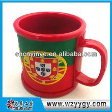 Bar copo de vinho 2D borracha drinkware