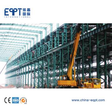 Склад готовой стальной конструкции