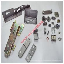 Perforación modificada para requisitos particulares fabricante de la chapa de China que sella el cinc plateado