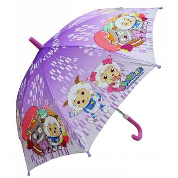 Semi-Auto ambiental EVA kids umbrella