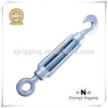 Gancho de conexión de cadena de cuerda de alambre fabricado en China proveedor tensor de din 1480 de aparejo