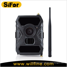 Wireless hidden camera no glow infrared LEDs support cellphone remote access 3G GSM camera