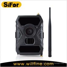 Câmera escondida sem fio sem brilho LEDs infravermelhos suporte celular acesso remoto 3G GSM câmera