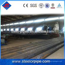 Alibaba exportación de acero inoxidable calendario 40 erw tubo