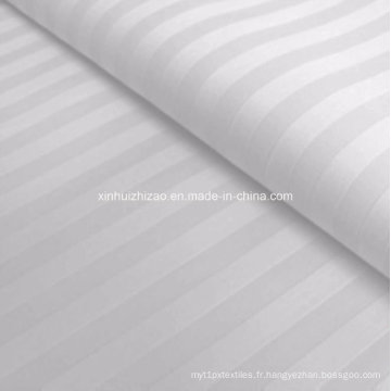 Tissu de satin de haute qualité de coton de 100% pour l'hôtel