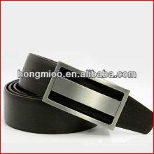 Outono coleção Men's Classic Elegante Moda REAL LEATHER Belt Alloy Buckle
