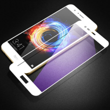 White Anti Blue Light Protector voor Honor V9