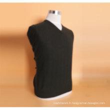 Yak laine / cachemire col v pull à manches longues chandail / vêtement / vêtements / tricots