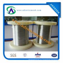 El alambre de acero inoxidable de la venta caliente (304, 316L)