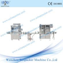 Glass Bottle Automatic Liquid Filling Machine and Capping Machine