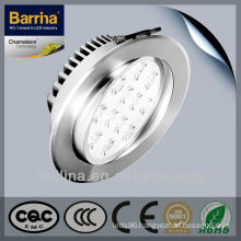 Hot sale embedded led Ceiling Lights with multi angle
