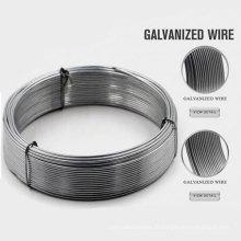 Nouveau fil en acier galvanisé revêtu de PVC avec ce certificat