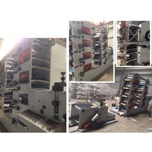 Máquina de impresión flexográfica de 8 colores