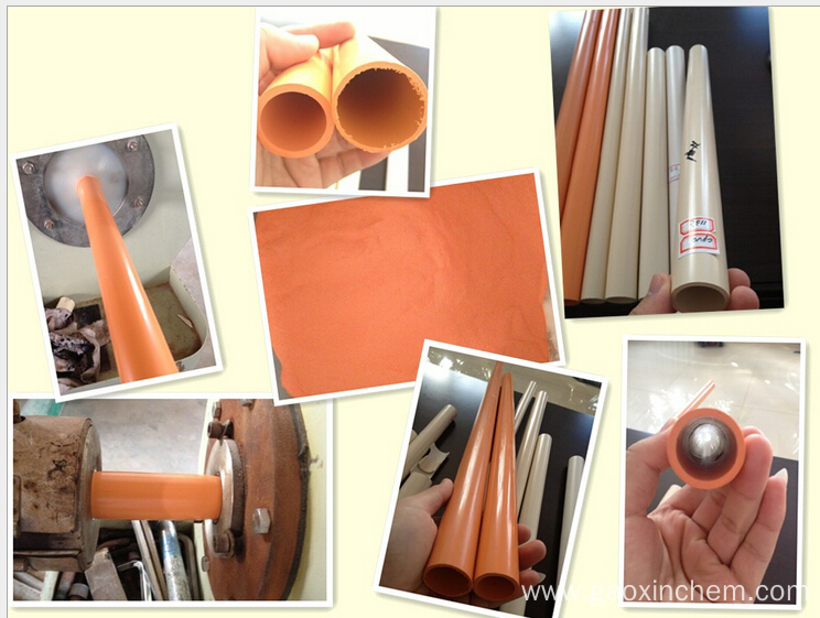 Good Quality Chlorinated PVC Resin(CPVC) For Pipes and fittings
