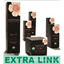 Niedriger Preis-schwarze Kunst-Papier-faltbare kundenspezifische Design-Haut, die Pillen-Kasten weiß wird