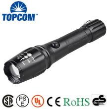 18650 Bateria 10w lanterna LED recarregável