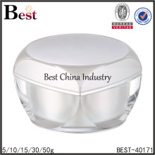 big acrylic container for cosmetic,big acrylic cream container