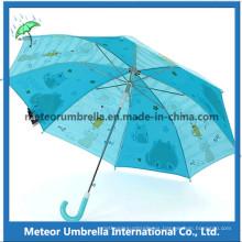 Regalo promocional paraguas abierto para niños paraguas / niños paraguas
