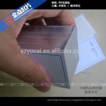 Offset printing letterpress card business design