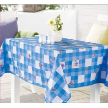 Nonwoven Technics and Plain Style PVC Tablecloth