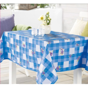 Nonwoven Technics and Plain Style PVC Tablecloth