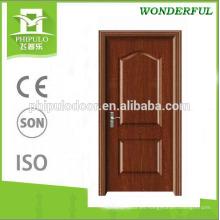 2018 nuevo diseño de la sala de la puerta decorativa puerta de madera de melamina