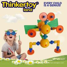Animal Bloques Plástico Montessori Preschool Toy