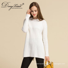 Factory Directlymongolian Cashmere Computer Knitted Women Sweater With Best quanlity