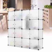 Portable Clothes Closet Wardrobe Bedroom Armoire Storage Organizer with Doors