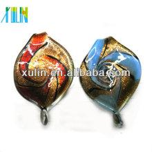 broche de langosta de color mezclado de alta calidad cuentas de vidrio de estilo africano