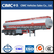 50cbm 3 Ejes Cimc Semirremolque de Tanque de Combustible (aleación de aluminio)