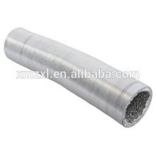 Duto flexível de alumínio resistente ao fogo