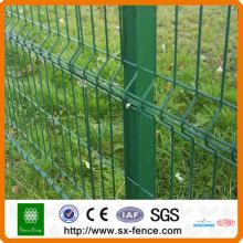 3V schweißte grüne Metallzaunplatte