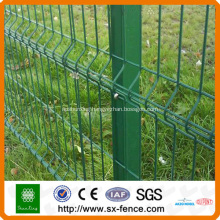 Green Wire Mesh Fence Panel